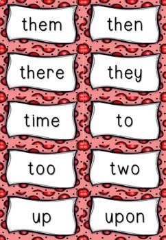 Vibrant Sight Words Flashcards - Emergent Reader