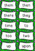 Vibrant Sight Words Flashcards - FREEBIE!