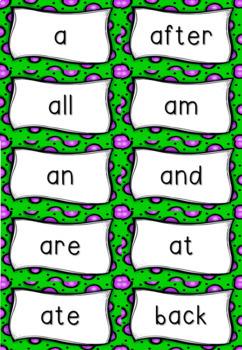 Sight Words Flashcards - FREEBIE!