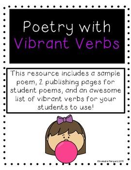 Vibrant Verbs Poetry