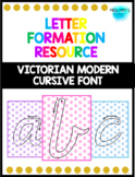 Vic Cursive Letter Formation Posters
