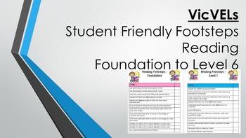 VicVELs Student Friendly Reading Achievement Standards Fou
