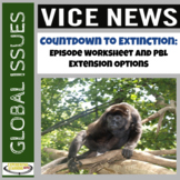 Vice News Video Worksheet and PBL Extension Activities: Co
