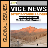 Vice News Video Worksheet and PBL Extension Activities: Eg