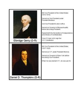 Vice Presidents (U.S. to 1877)