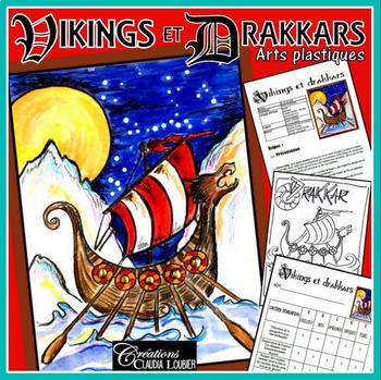 Arts plastiques: Viking et drakkars, hiver, plan de cours
