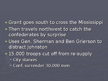 Vicksburg and Gettysburg