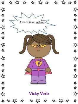 Vicky Verb Anchor Chart