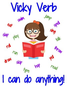 Vicky Verb Poster