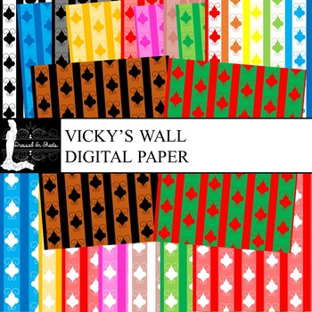 Vicky's Wall Digital Paper
