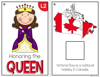 Victoria Day Adapted Books ( Level 1 and Level 2 )