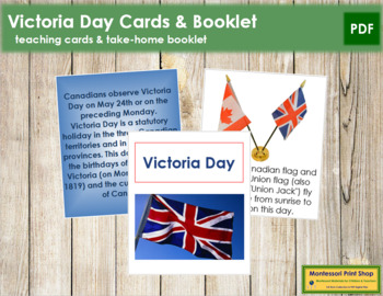 Victoria Day Cards and Booklet