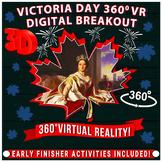 Canada Victoria Day Digital Escape Room/Breakout,  360°