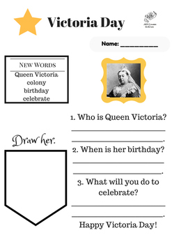 Victoria Day Leveled Reading