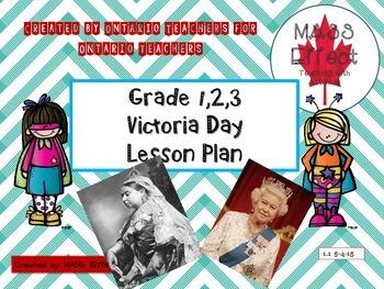 Victoria Day Writing Activity Ontario