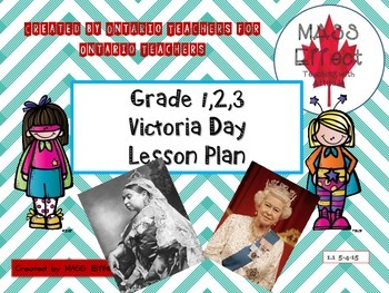 Victoria Day Writing Activity Ontario