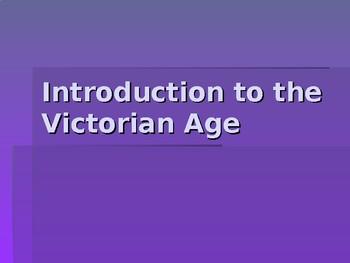 Victorian Age Intro Presentation