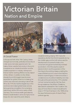 Victorian Britain Intro: Nation and Empire