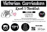 Victorian Curriculum Checklists - Level 2