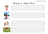 Victorian Cursive - Handwriting - Early Years - Dotted Thirds - Many Uses