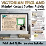 Victorian England Historical Information Print & Digital