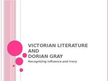 Victorian Literature and DORIAN GRAY
