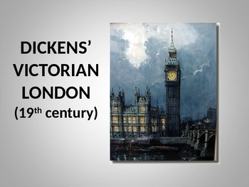 DICKENS' VICTORIAN LONDON
