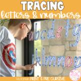 Victorian Modern Cursive Write & Wipe Alphabet and Numbers Set