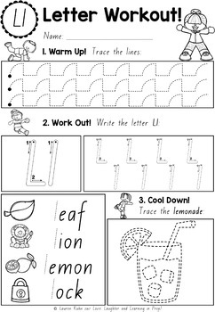 Victorian Print Handwriting Worksheets {Letter Workout}