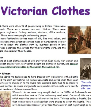 Victorian Report for 7 to 11 year olds