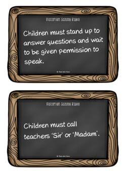 Victorian School Rules
