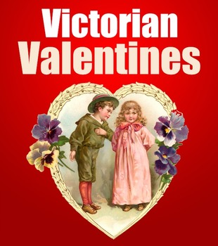 Victorian Valentines: Coloring Pages (full set--bundle)