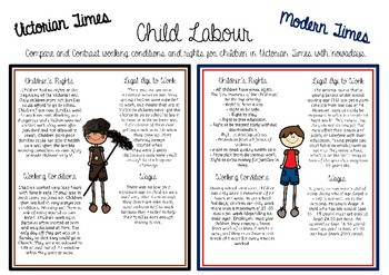 Victorian jobs and child labour
