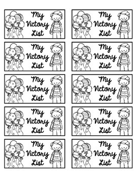 Victory List Labels