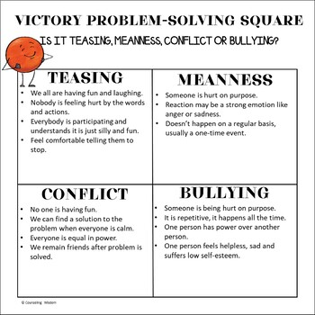 Victory for Vic & Vicki: Learn to Handle Bullying Activities