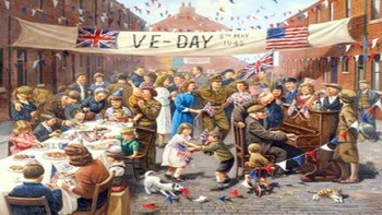 Victory in Europe Day - V E Day Power Point history facts