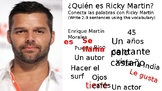 Vida by Ricky Martin Song Activities