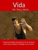 Vida by Ricky Martin Song Activity Lesson Plans
