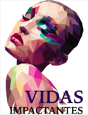 Vidas Impactantes > book study > three worksheets for six