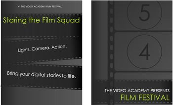 Video Academy Film Festival Program Template (editable)