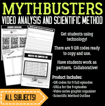 MythBusters Video Analysis
