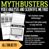 MythBusters Video Analysis--SUB PLANS
