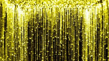 Motion Graphics Background HD (1080p) - Falling Gold #2
