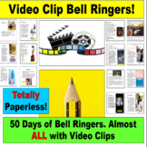 Bell Ringer PowerPoint: 50 Video Clip Starters