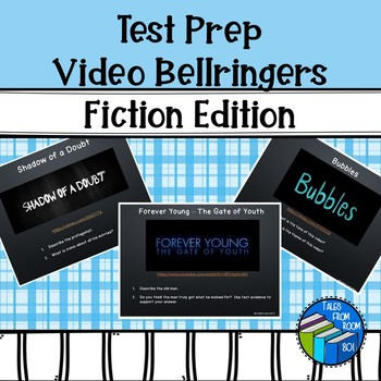 Bell Ringers Video - Warm Ups - Fiction reading and Literacy Terms