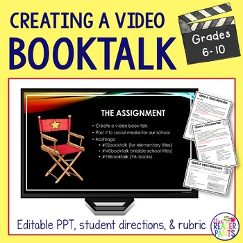 Video Book Talk Project | Distance Learning