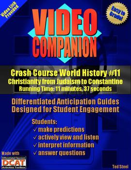 Video Companion: Crash Course World History #11, Christianity