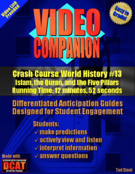 Video Companion: Crash Course World History #13, Islam