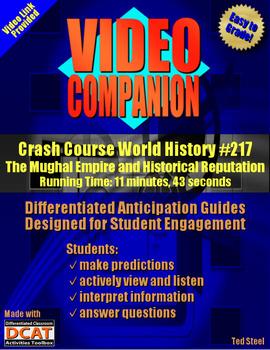 Video Companion: Crash Course World History #217, The Mughal Empire