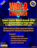 Video Companion: Crash Course World History #218, Luther